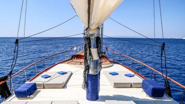 aegean schatz motor sailer gulet fore -  Valef Yachts Chartering - 3058
