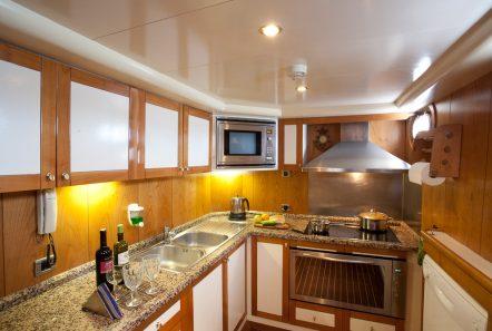 aegean schatz motor sailer gulet galley -  Valef Yachts Chartering - 3057