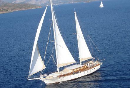 aegean schatz motor sailer gulet sailing -  Valef Yachts Chartering - 3056