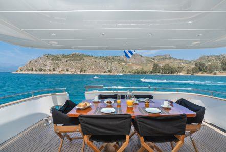 alandini motor yacht aft deck (2) min -  Valef Yachts Chartering - 3513