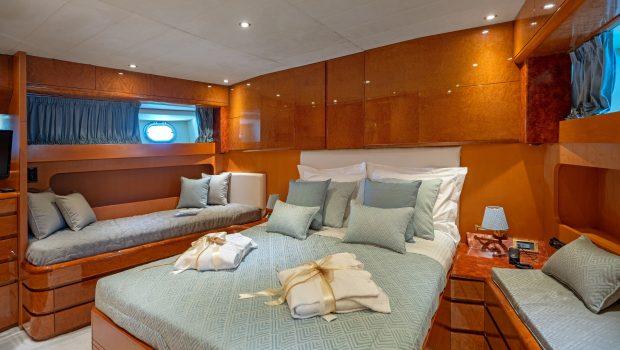 alandini motor yacht cabins (6) min -  Valef Yachts Chartering - 3505