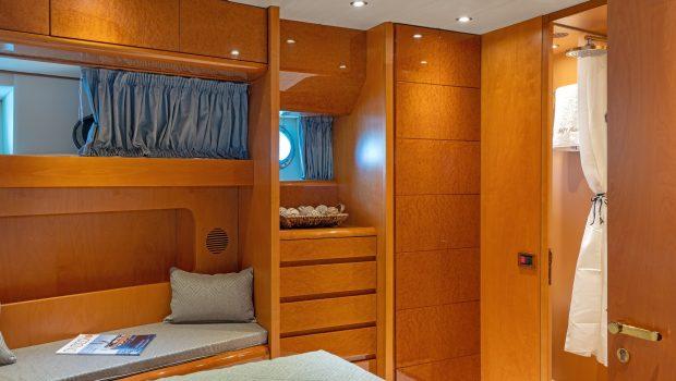 alandini motor yacht cabins (8) min -  Valef Yachts Chartering - 3503