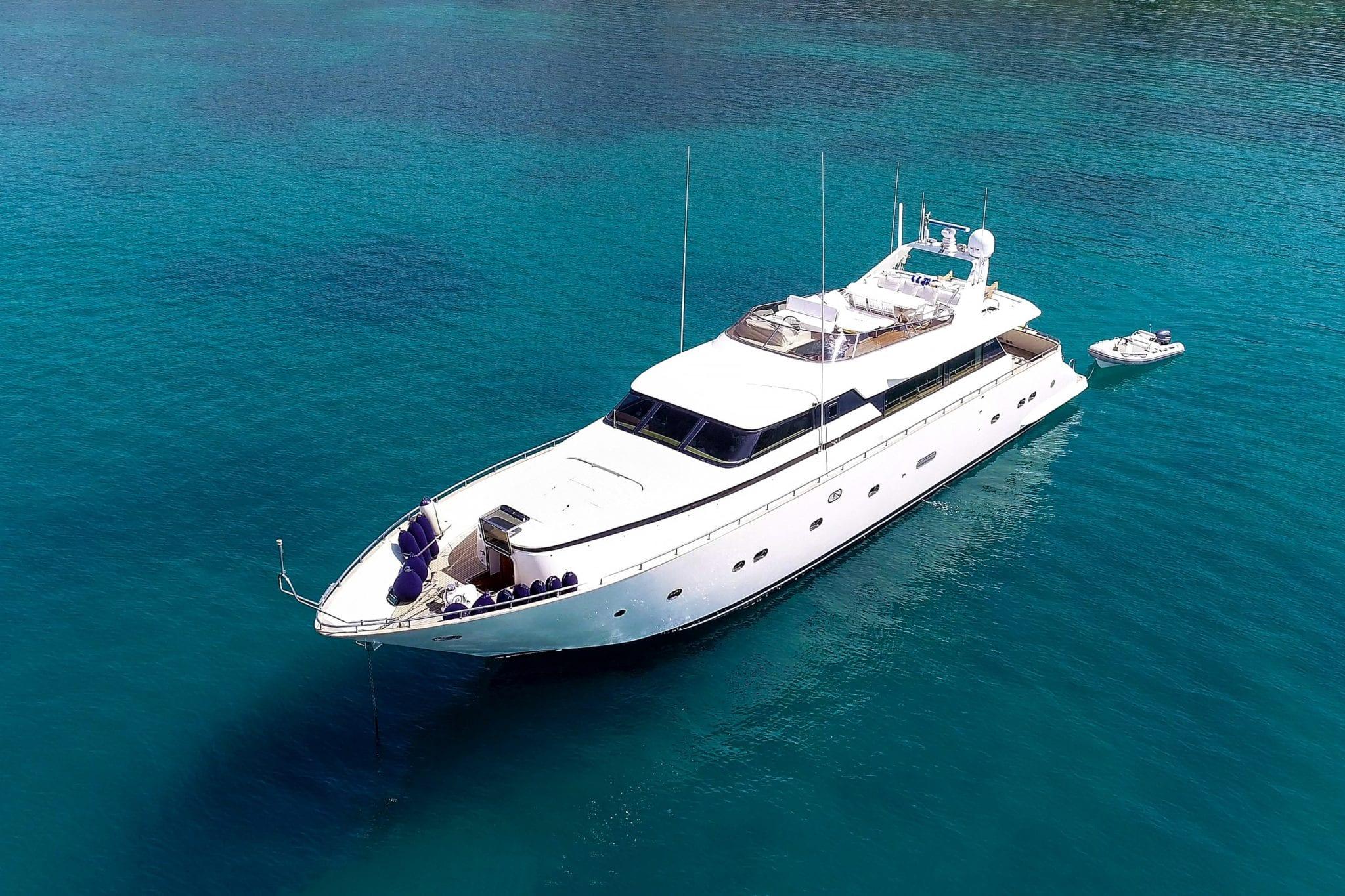 alandini motor yacht exteriors (1) min -  Valef Yachts Chartering - 3486