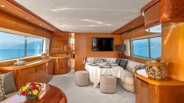 alandini motor yacht salon (1) min -  Valef Yachts Chartering - 3532