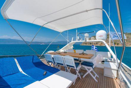 alandini motor yacht sundeck (1) min -  Valef Yachts Chartering - 3522