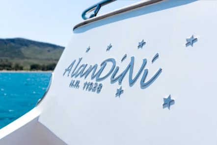 alandini motor yacht swim platform min -  Valef Yachts Chartering - 3521