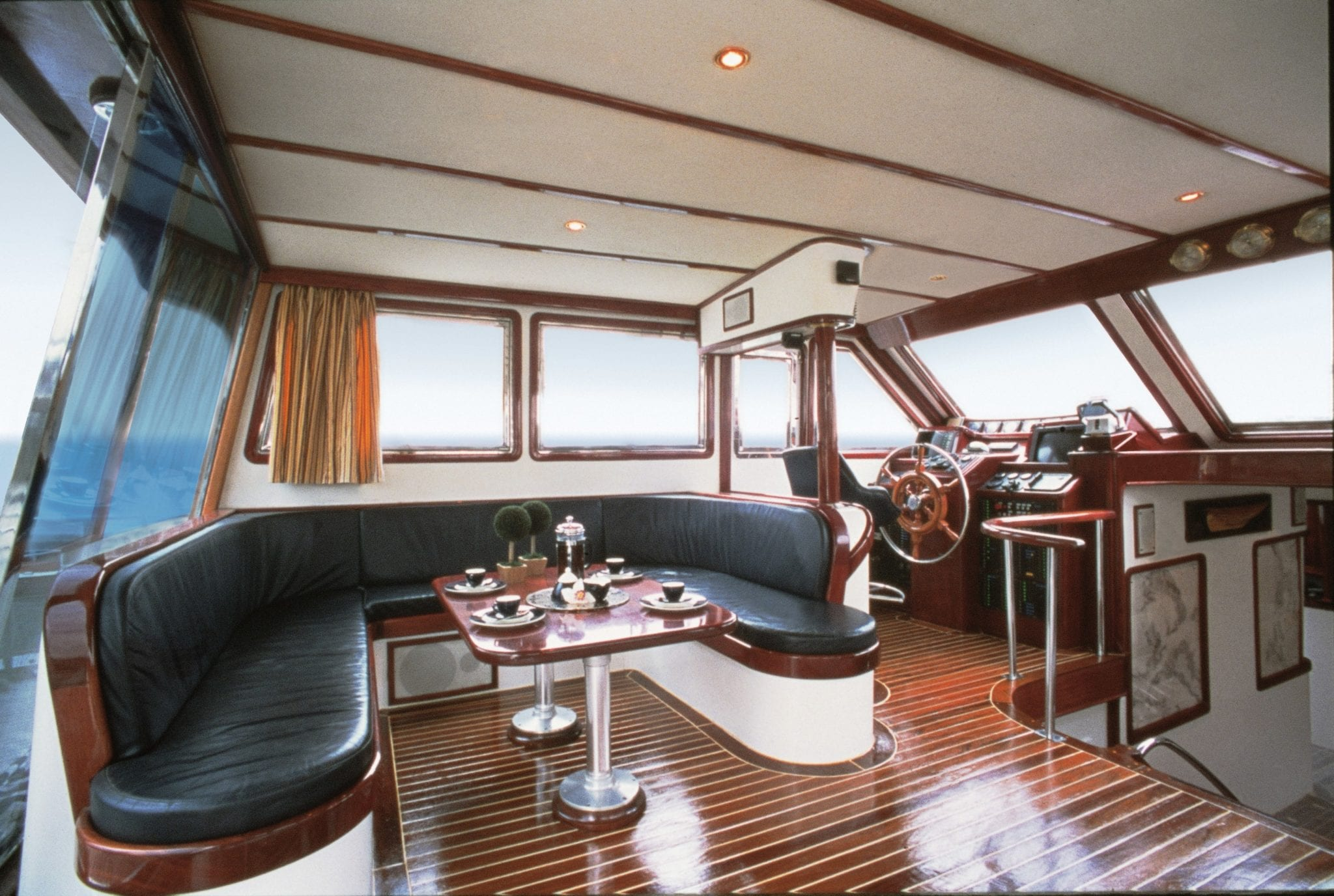almyra motor salier bridge table min -  Valef Yachts Chartering - 3226