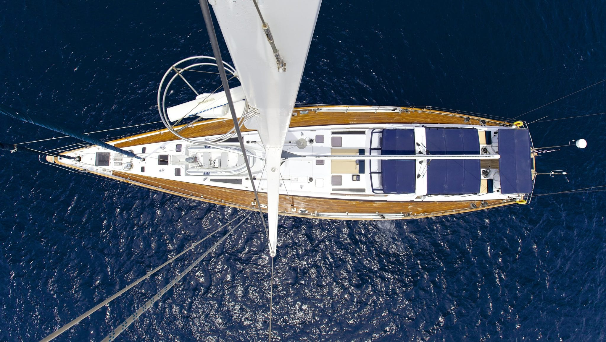 amadeus sailing yacht aerial min -  Valef Yachts Chartering - 3541