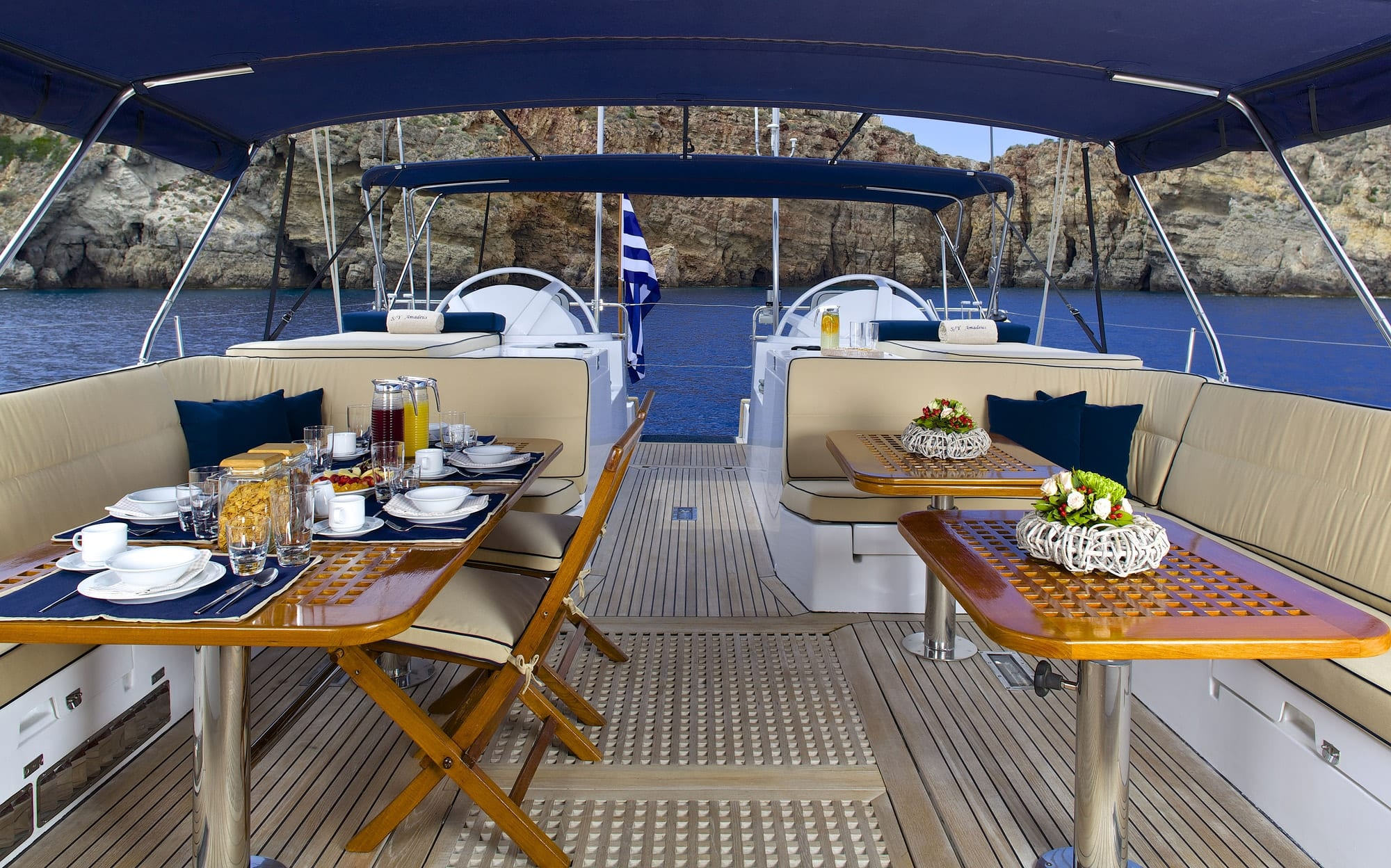 amadeus sailing yacht deck min -  Valef Yachts Chartering - 3537