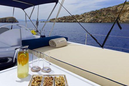 amadeus sailing yacht sunbeds (2) min -  Valef Yachts Chartering - 3546