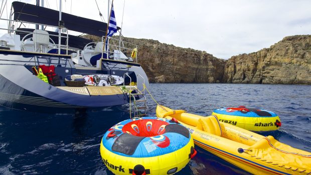 amadeus sailing yacht swim platform min -  Valef Yachts Chartering - 3545