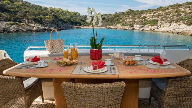 amor motor yacht aft deck min -  Valef Yachts Chartering - 2914