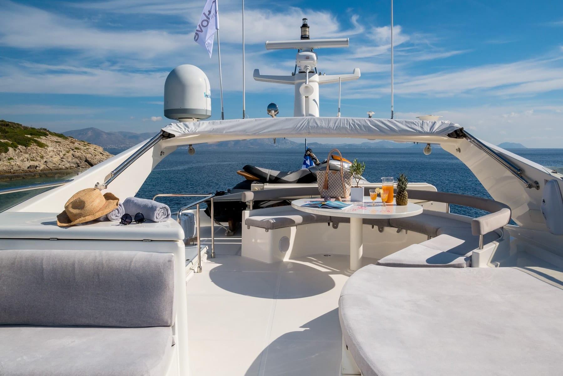 amor motor yacht sundeck min -  Valef Yachts Chartering - 2907