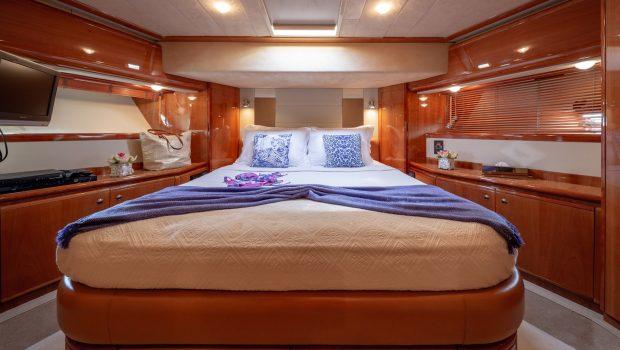 amor motor yacht vip cabin min -  Valef Yachts Chartering - 2915