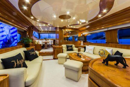 amoraki motor yacht salon -  Valef Yachts Chartering - 2593