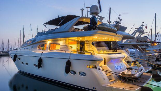 amoraki motor yacht side aft -  Valef Yachts Chartering - 2591