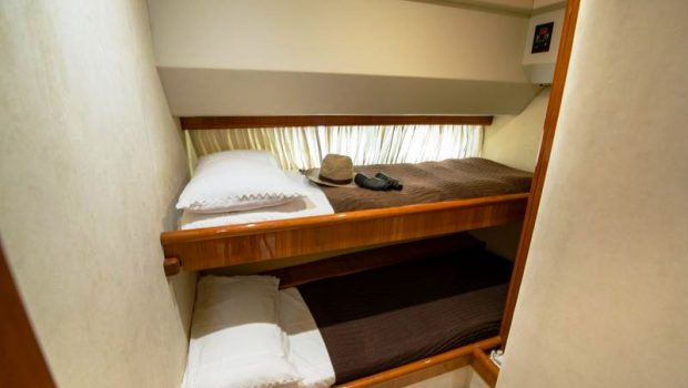 ananas motor yacht bunk beds -  Valef Yachts Chartering - 2564