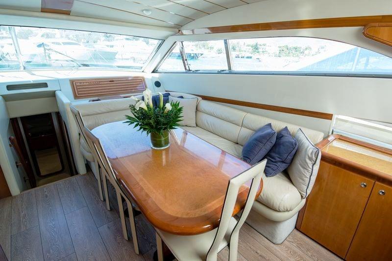 ananas motor yacht dining room -  Valef Yachts Chartering - 2563