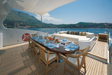 andreas l megayacht alfresco dining min -  Valef Yachts Chartering - 3427