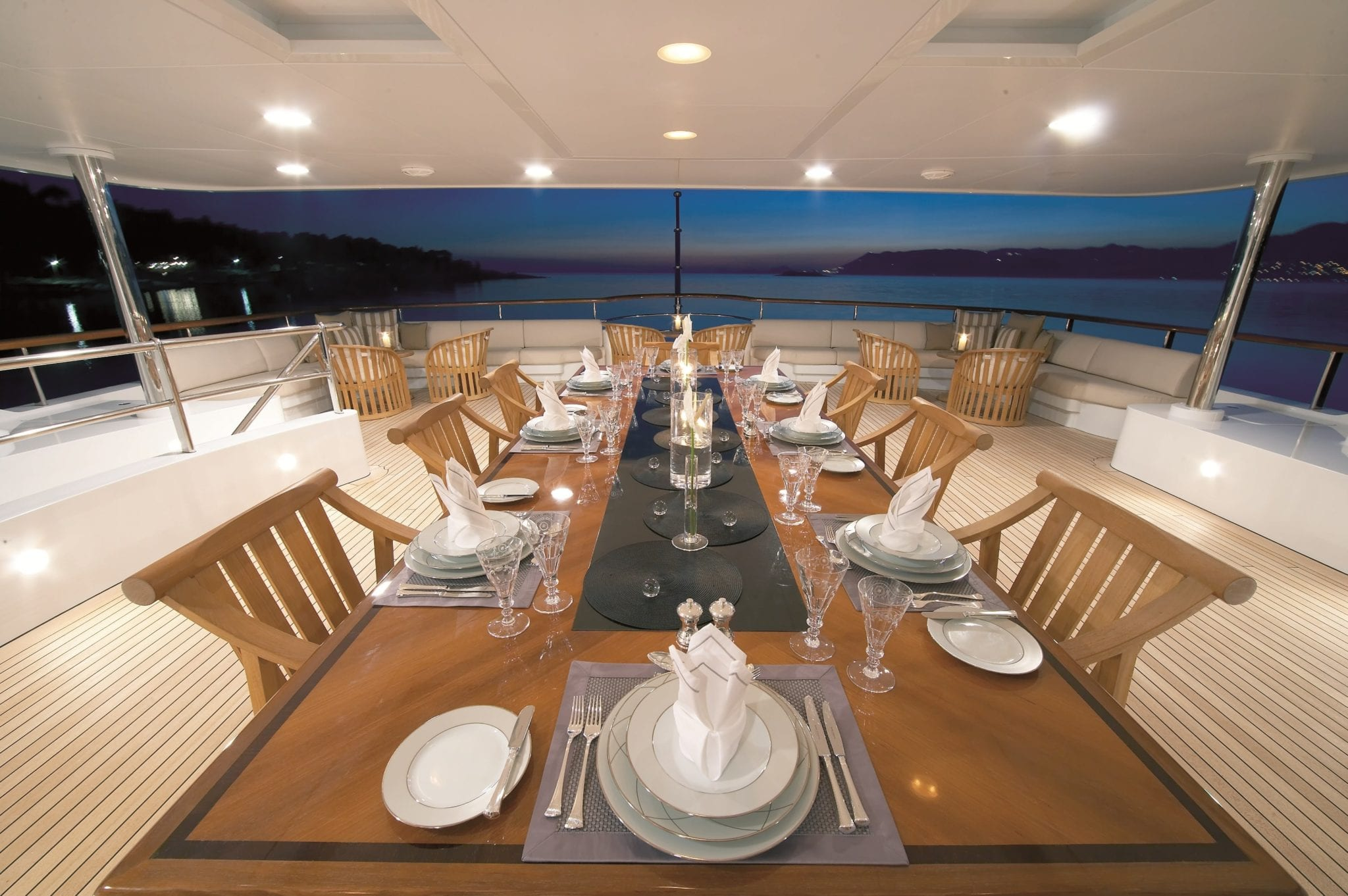 andreas l megayacht exterior dining min -  Valef Yachts Chartering - 3425