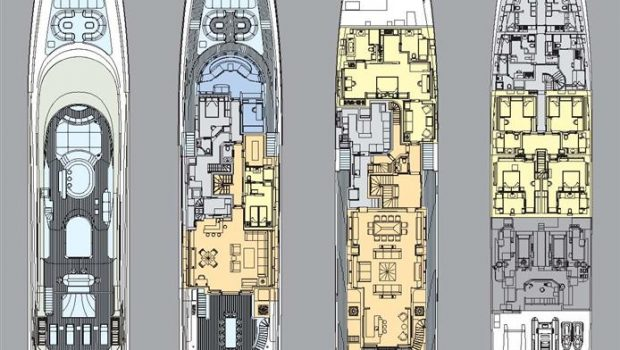 andreas l megayacht layout min -  Valef Yachts Chartering - 3424
