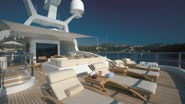 andreas l megayacht sundeck stern min -  Valef Yachts Chartering - 3421