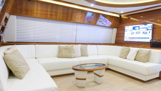 armonia motor yacht salon (1) -  Valef Yachts Chartering - 3264