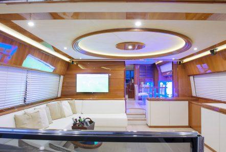 armonia motor yacht salon (3) -  Valef Yachts Chartering - 3262