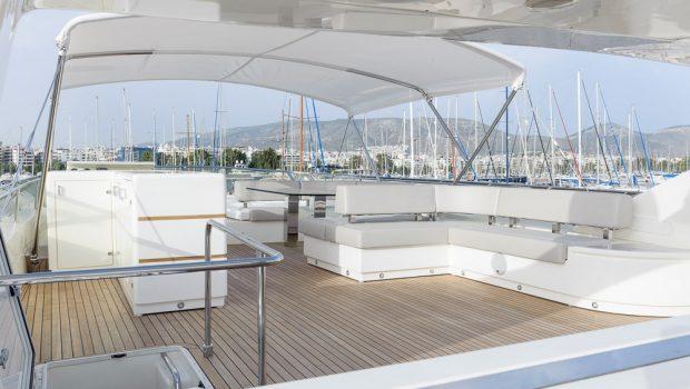 armonia motor yacht sundeck (1) -  Valef Yachts Chartering - 3270