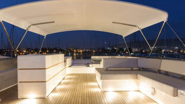 armonia motor yacht sundeck (2) -  Valef Yachts Chartering - 3260