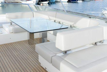 armonia motor yacht sundeck (4) -  Valef Yachts Chartering - 3257