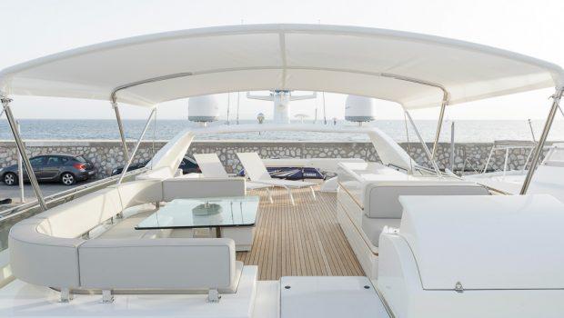 armonia motor yacht sundeck (5) -  Valef Yachts Chartering - 3279