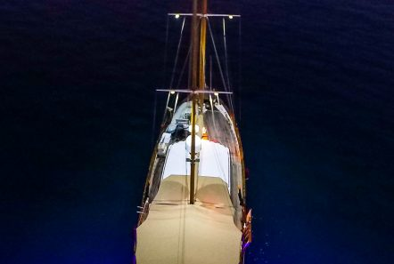 astarte motor sailer night lights -  Valef Yachts Chartering - 3592