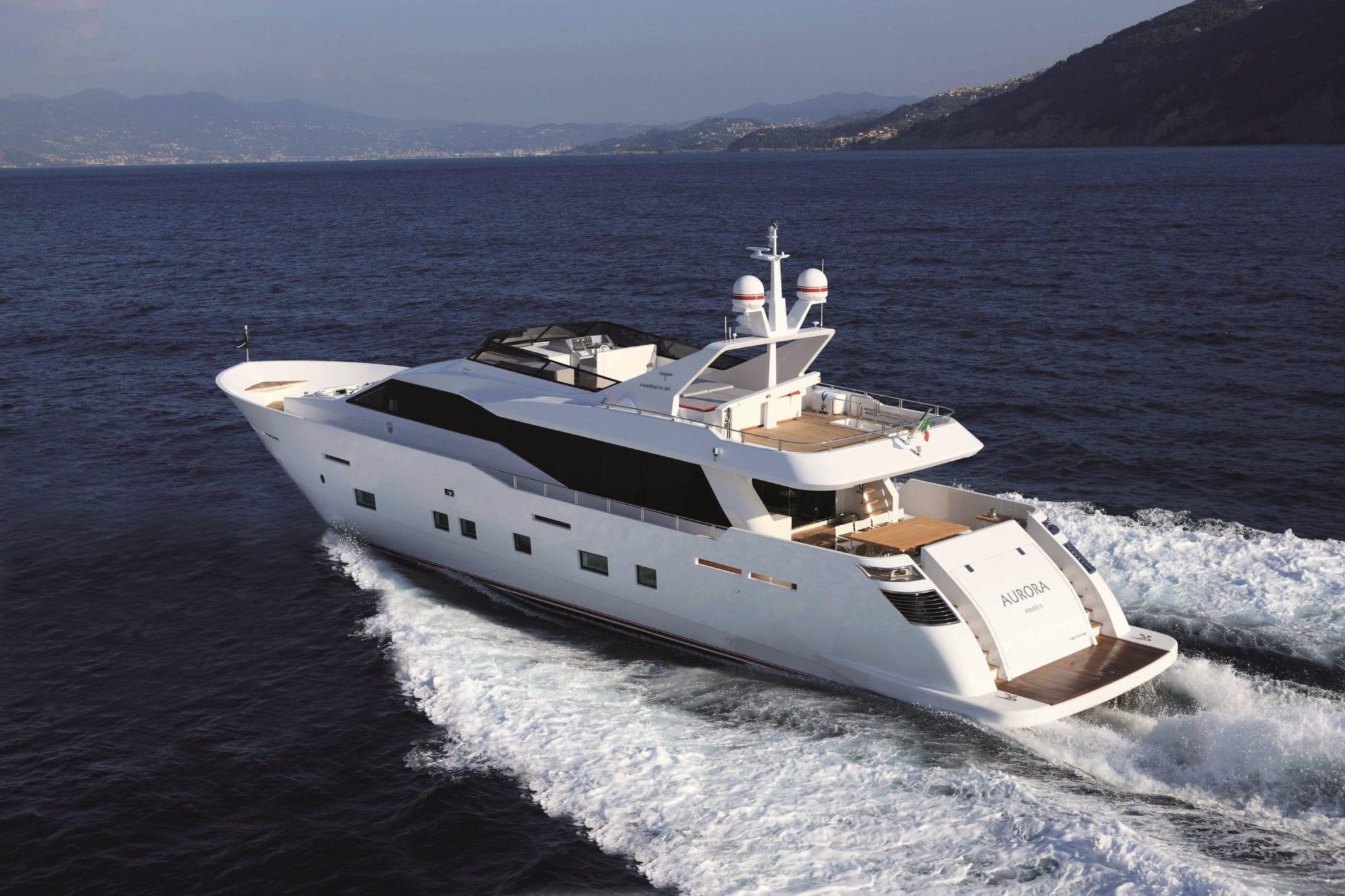 aurora motor yacht cruising min -  Valef Yachts Chartering - 2600