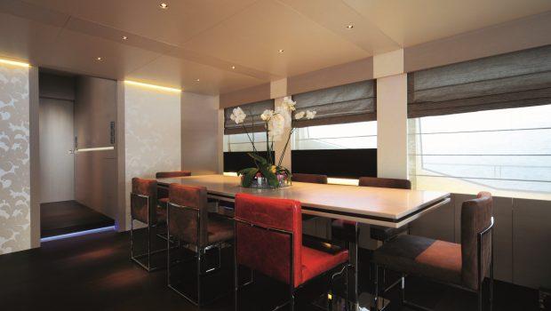 aurora motor yacht interior dining min -  Valef Yachts Chartering - 2597