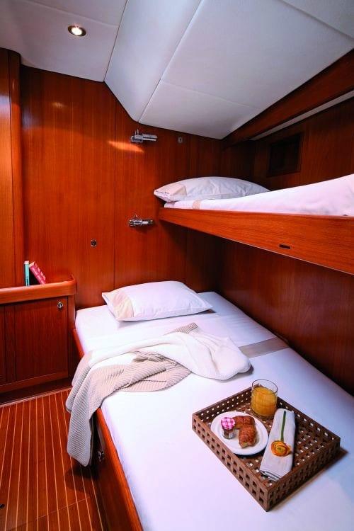 callisto sailing yacht cabins (2) -  Valef Yachts Chartering - 3243