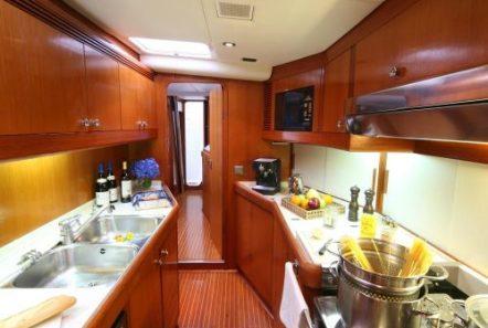 callisto sailing yacht galley -  Valef Yachts Chartering - 3244
