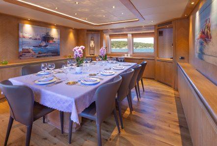 daloli motor yacht dining -  Valef Yachts Chartering - 3287