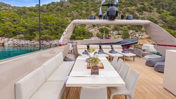 daloli motor yacht sundeck -  Valef Yachts Chartering - 3288