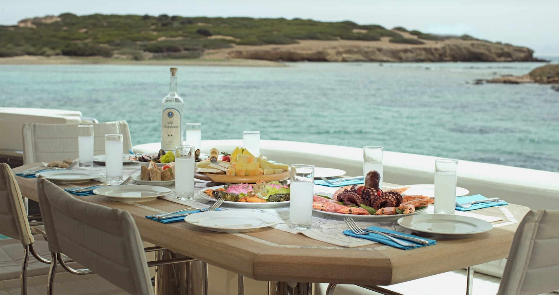 emsaffa motor yacht aft deck min -  Valef Yachts Chartering - 2857