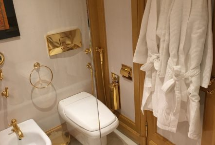 grand ocean mega yacht charter bathroom -  Valef Yachts Chartering - 3100