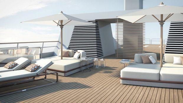 grand ocean mega yacht charter dome deck min -  Valef Yachts Chartering - 3094