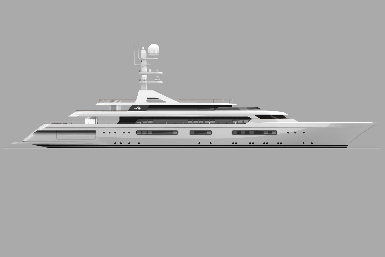 grand ocean mega yacht charter exteriors (1) min -  Valef Yachts Chartering - 3093