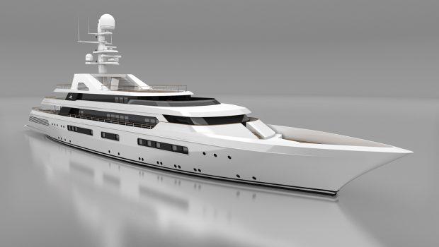 grand ocean mega yacht charter exteriors (4) min -  Valef Yachts Chartering - 3091