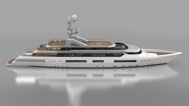 grand ocean mega yacht charter exteriors (5) min -  Valef Yachts Chartering - 3090
