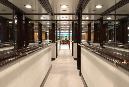 grand ocean mega yacht charter hallway min -  Valef Yachts Chartering - 3107