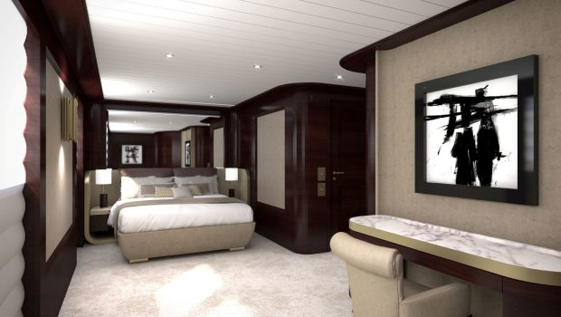 grand ocean mega yacht charter new suite -  Valef Yachts Chartering - 3105