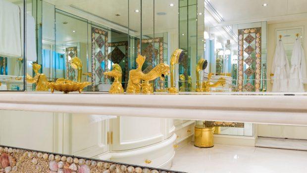 grand ocean mega yacht charter owner bathroom (1) min -  Valef Yachts Chartering - 3103