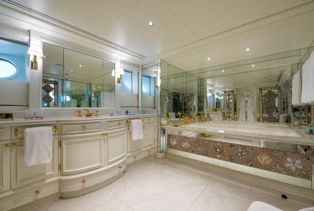 grand ocean mega yacht charter owner bathroom (2) min -  Valef Yachts Chartering - 3087