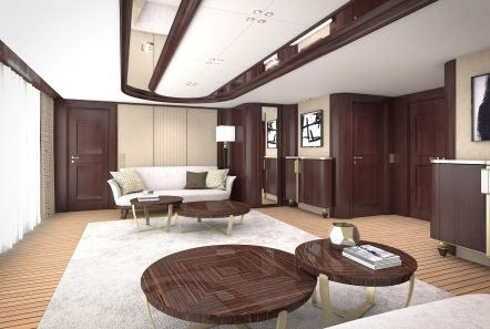 grand ocean mega yacht charter owners lounge min -  Valef Yachts Chartering - 3085